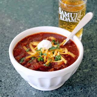 Jimmy Fallon's Crock Pot Chili.