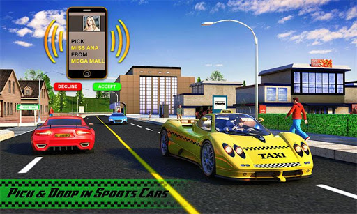 Yellow Cab American Taxi Driver 3D: New Taxi Games  screenshots 5