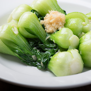 Baby Shanghai Bok Choy with Garlic