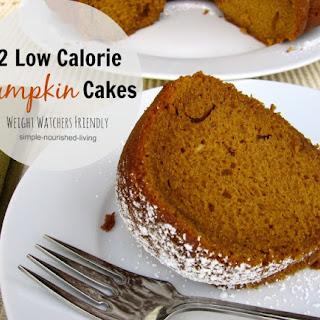 Low Fat Pumpkin Spice Cake Recipe