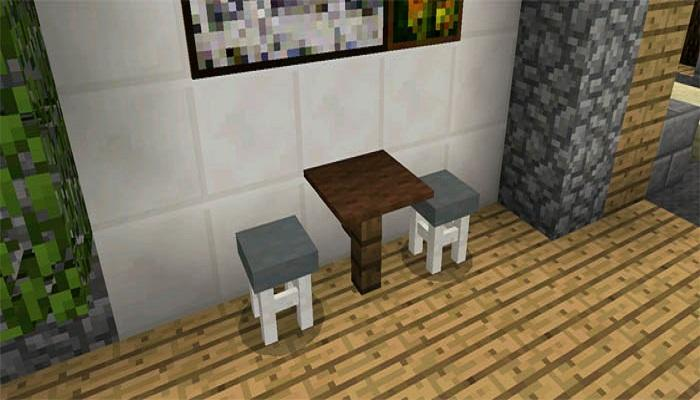Download Furniture Chairs Mod MCPE APK latest version app by Domino