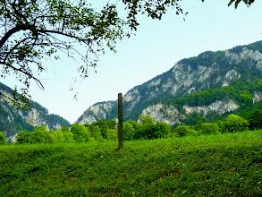 Photo: Blick zu Schnalzwand und Kammerwand (Saurüssel, 1340m)
