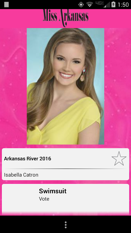 Miss Arkansas Pageant- screenshot