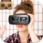 VR player movies 3D Icon