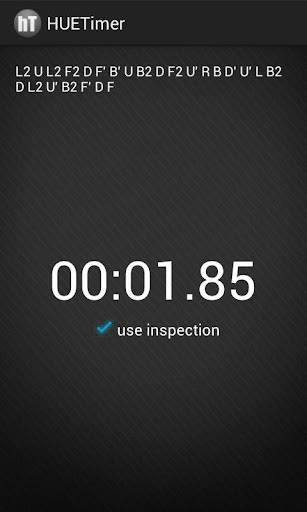 hueTimer - Speedcubing Timer
