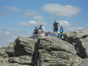 Photo: Ça y est le sommet est vaincu. 1388 m.
