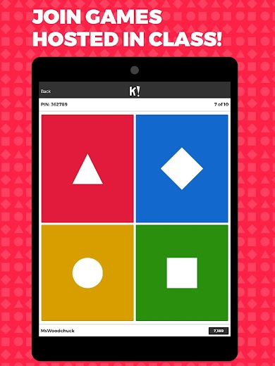 Screenshot 7 for Kahoot's Android app'