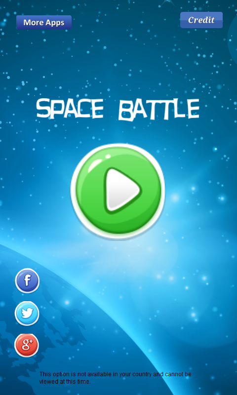 Скриншот Space Battle -fight with enemy