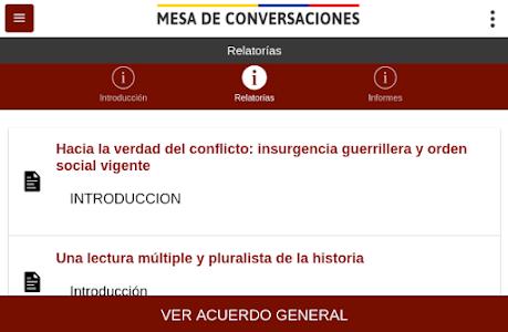 Mesa de Conversaciones screenshot 4