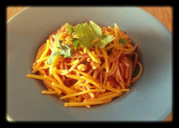Chicken Enchilada Spaghetti Recipe