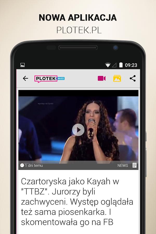 Plotek.pl Buzz - screenshot