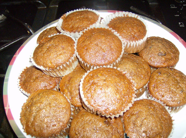 Chocolate Banana Nut Muffins Recipe