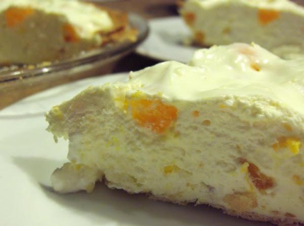 Orange Mousse Pie Recipe