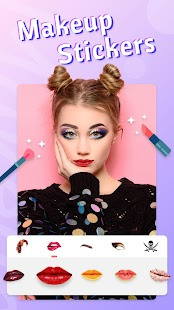 Fancy Photo Editor - Collage Sticker Makeup Camera Screenshot