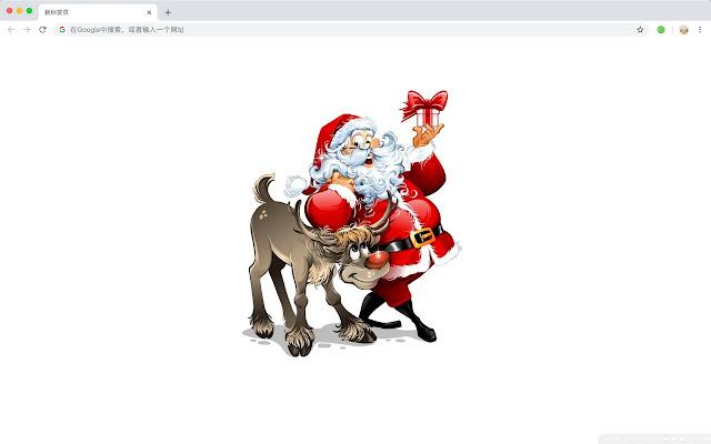 Santa Claus HD Wallpapers New Tabs Themes