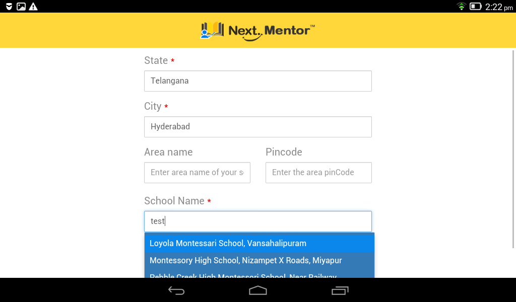NextMentor- screenshot