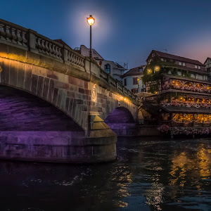 Strasbourg - La Petite France at Night (1 of 1).JPG