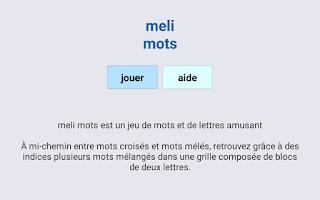 Screenshot of Melimots
