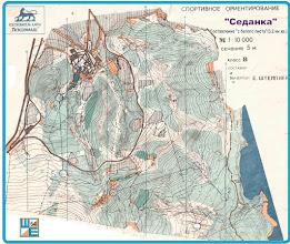 Photo: Карта сделанная в Владивостоке.