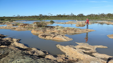 Photo: Heinsman Rock - full of water!