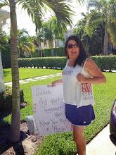Photo: 3.30.14 Raising Awareness in West Palm Beach, FL!