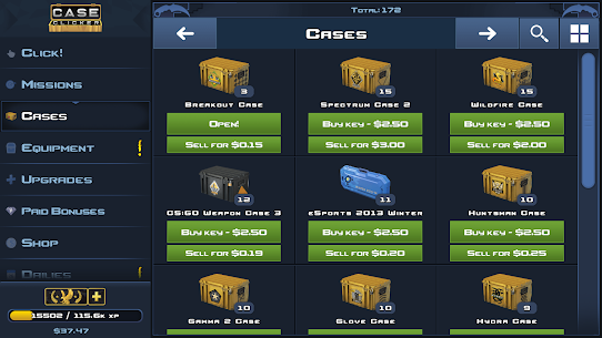 Case Clicker 2 MOD Apk (Unlimited Money) 6