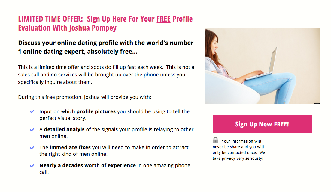 how to make an online dating profile interesting