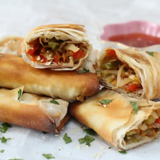 Vegetable Spring Rolls Phyllo Pastry Recipes