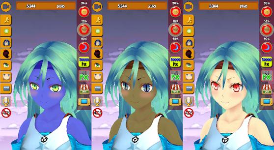 My Virtual Manga Girl Anime 3D MOD APK [Unlimited Money] 6