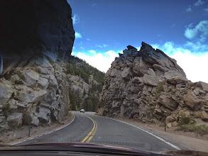 Photo: Route 7 toward Longs Peak Trail Head