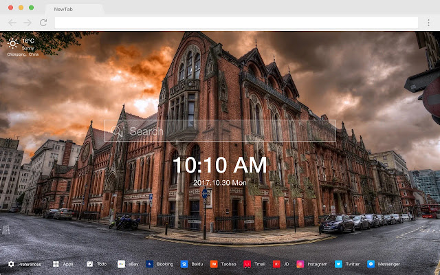 Cathedral New Tab Page HD Wallpapers Themes