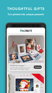 TouchNote Screenshot