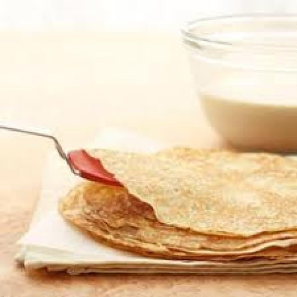 For the cornmeal and whole wheat crepes  stir the batter occasionally, as the...