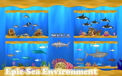 मेगा शार्क प्रो: शार्क गेम्स