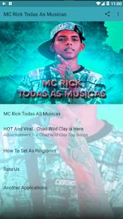 MC Rick Todas As Musicas Screenshot