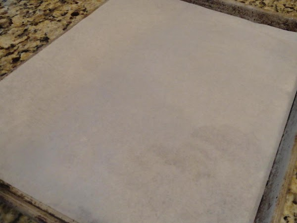 Preheat oven at 400 degrees.  Line a large cookie sheet with parchment paper...