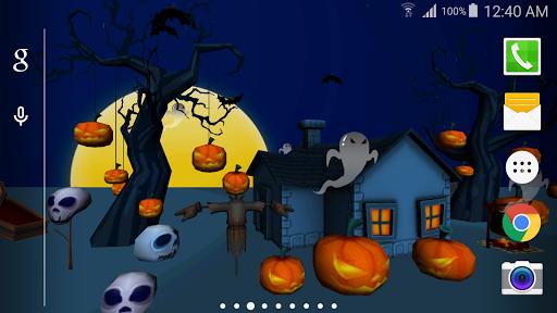 3D万圣节动态壁纸Free|玩個人化App免費|玩APPs