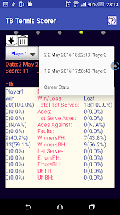 Table Tennis Match Scorer Free- screenshot thumbnail