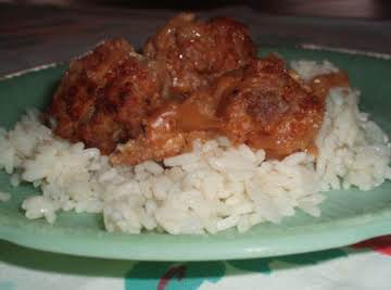 Norwegian Meatballs and Rice
