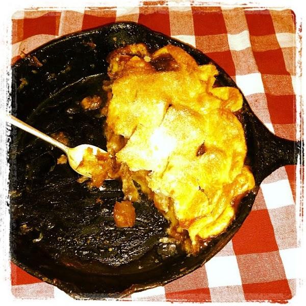 Iron Skillet Apple Pie Recipe