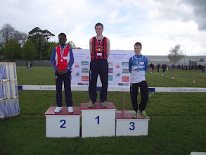 Photo: Daniel Ryan, Moycarkey Coolcroo A.C., winner of Boys U/14 Shot Putt at St. Laurence O'Toole Sports 2012.