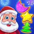 Christmas Cookie - Santa Claus's Match 3 Adventure icon