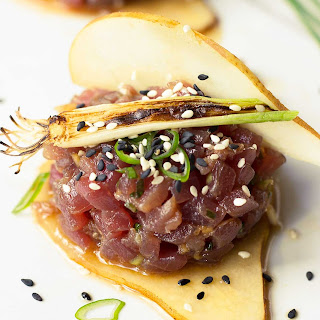 Korean Tuna Tartare.