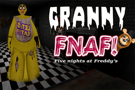 Scary Granny FNAP: The Horror Game Mod 2019 Screenshot