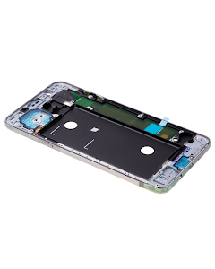 Galaxy J7 2016 Front Cover Frame White