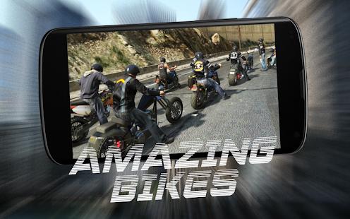 Highway Motor Bike Traffic Race Rider Simulator 3D - náhled