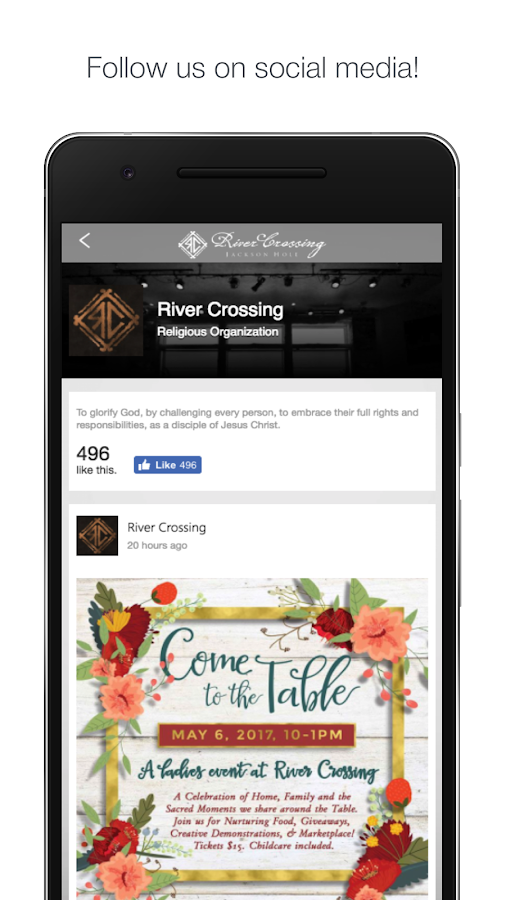 River Crossing Church- screenshot