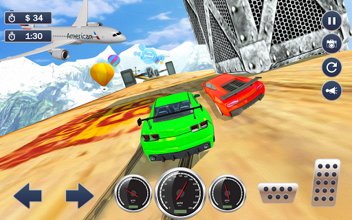 Mega Ramp Car Simulator u2013 Impossible 3D Car Stunts apkpoly screenshots 23