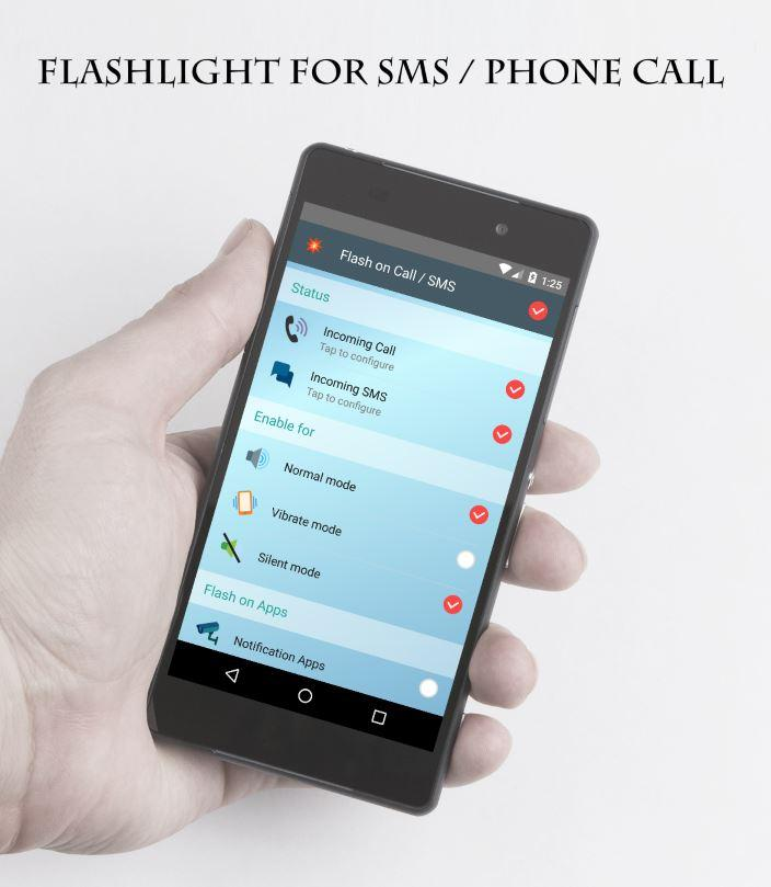 Flash On Call- screenshot