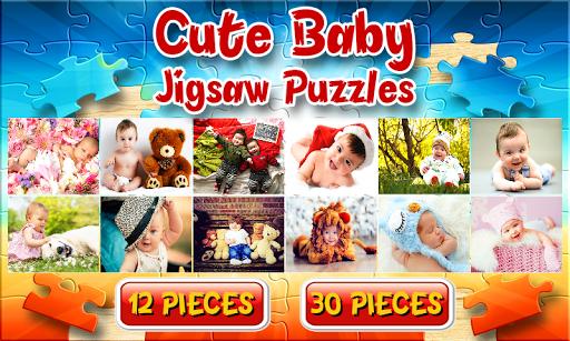 かわいい赤ちゃんジグソーパズルゲーム
